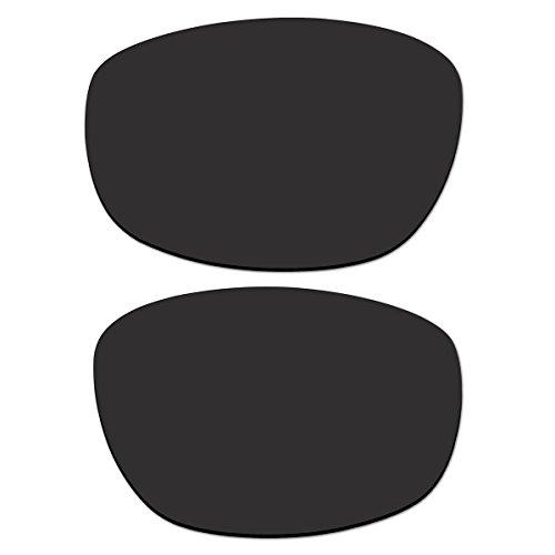 Replacement Black Polarized Lenses for Oakley Big Square Wire (Big Square Wire)