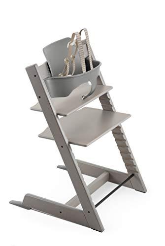 (Stokke 2019 Tripp Trapp High Chair, Includes Baby Set, Oak)
