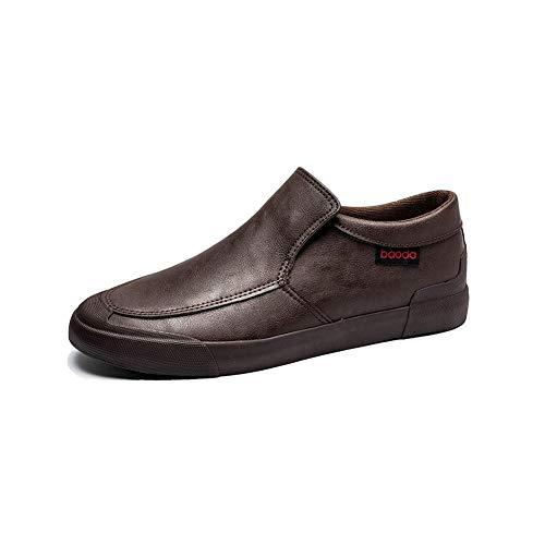 Light Cuir Paresseuses Hommes Size Ff couleur De 5 Eu39 Décontractées En Chaussures cn40 uk6 Jeunesse Pour Brown nfWqSWvX