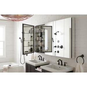 KOHLER K-13491-4-CP Kelston Widespread Bathroom Sink Faucet, Polished Chrome