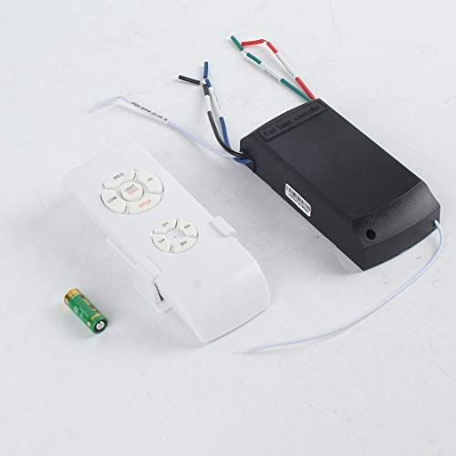 - Universal Ceiling Fan Lamp Remote Control Kit 110-240V Timing Wireless Control Switch Adjusted Wind Speed Transmitter Receiver