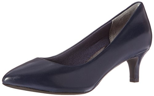Rockport Women's Total Motion Kalila Dress Pump, Deep Ocean Nappa, 10 M US by Rockport (Image #9)