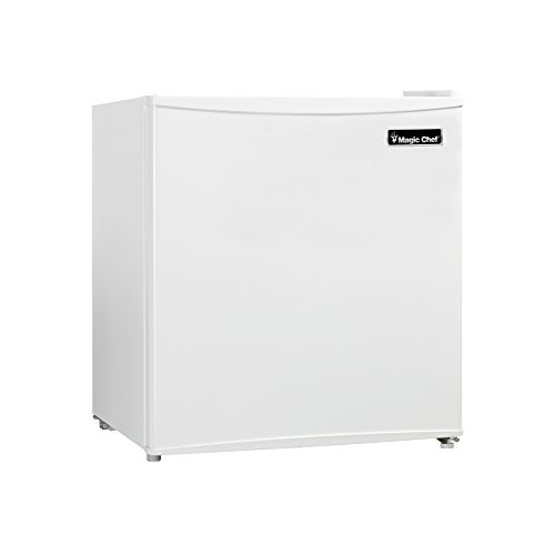 Magic Chef MCBR160W2 Refrigerator, 1.6 cu.ft., White