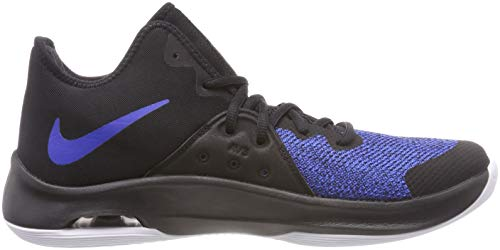 004 NIKE de Zapatos White Black Royal Unisex Versitile Air III Game Adulto Negro Baloncesto 64Z6BOq