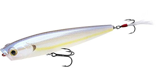 Lucky Craft Gunfish 115-mm Bait (Chartreuse Shad, 4-1/2-Inch)