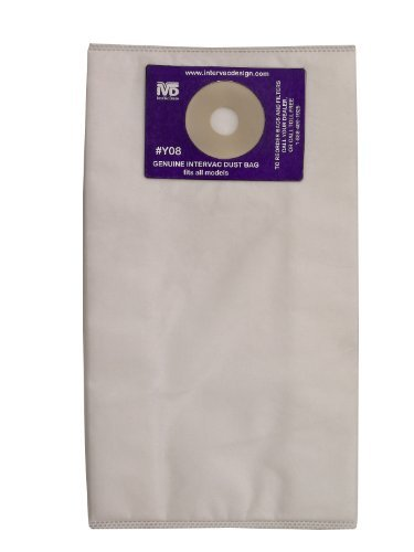 5 Replacement Dust Bags With Filter By Garagevac