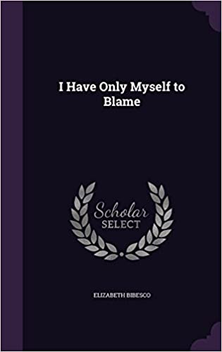 Book I Have Only Myself to Blame