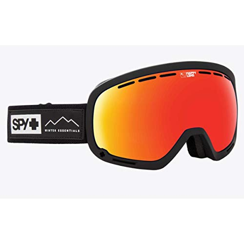 Spy Optic Unisex Marshall Essential Black/Happy Gray Green/Red Sepctra/Happy Yellow/Lucid One Size
