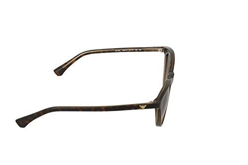 Beigean Beige EA4061 Emporio Sonnenbrille Brown Armani wqz4CBT