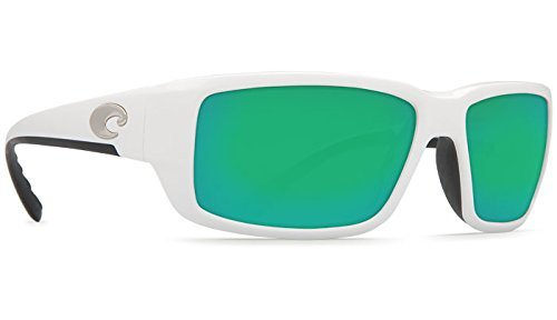 Costa Del Mar Fantail 580G Fantail, White Green Mirror, Green - 580g Costa Fantail Green