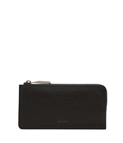 Matt & Nat Seva Handbag, Vintage Wallets Collection, Black (Black)