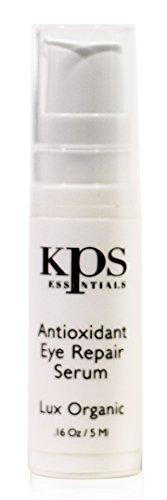Antioxidant Eye Serum with Retinol, Hyaluronic Acid, Vitamin A & C - .16oz   Repair Sun Damage, Fade Age Spots & Dark Circles, Reduce Puffy Eyes & Wrinkles   Improve - Balance Sun Check