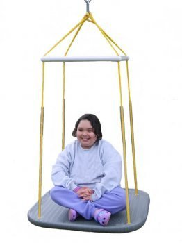 Indoor Platform Swing (square) by Bip Gear