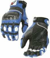 Joe Rocket SuperMoto Gloves X-Large Blue (Supermoto Jacket)