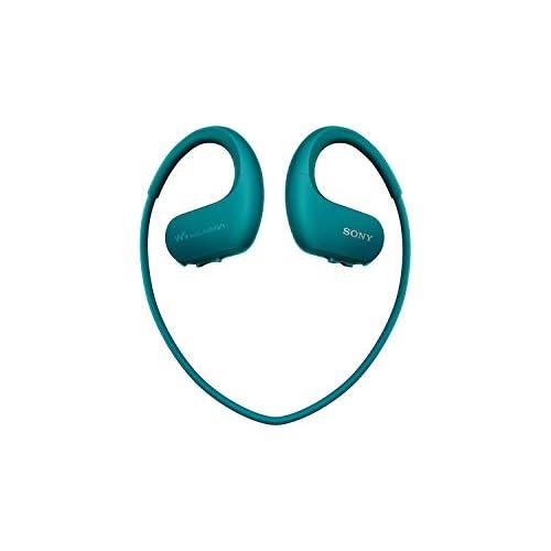 chollos oferta descuentos barato Sony NWWS413 Walkman Reproductor MP3 deportivo 4 GB resistente al agua salada y altas temperaturas color azul