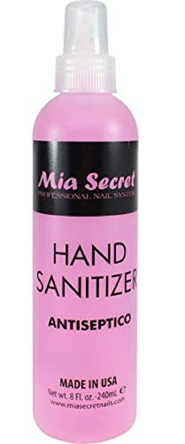 - Mia Secret Professional Nail System Hand Sanitizer Antiseptic 8oz
