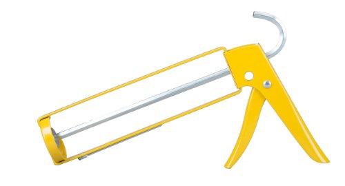 Dripless SH200 Contractor Professional Open-Frame Hex-Rod Caulk Gun with 10-Ounce Cartridge