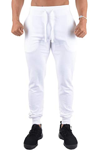 YoungLA Mens Slim Fit Joggers Fi...