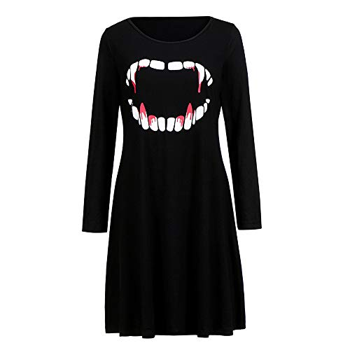 Clearance Sale! Wintialy Women Vampire Horror Blood Halloween