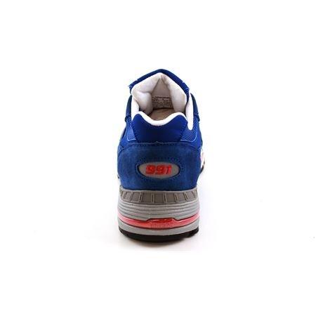 New Balance m991smb Sneaker Unisex in Wildleder Blau