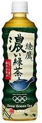 コカコーラ 綾鷹 濃い緑茶 525mlペットボトル×24本入