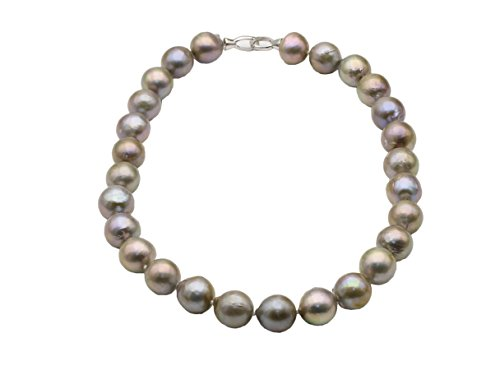 Round Gray Freshwater Pearls - 5