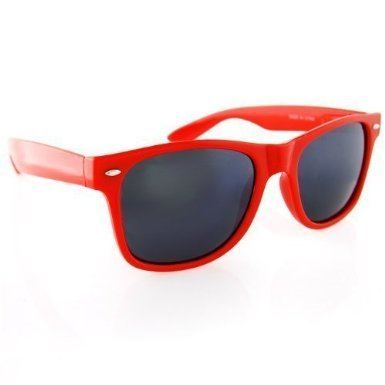 New Blues Brothers Wayfarer Style Sunglasses , Red