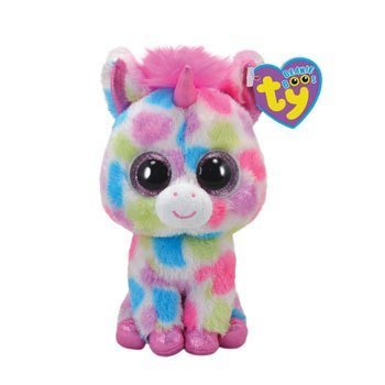 42e2db1e61e Image Unavailable. Image not available for. Color  Ty Beanie Boos Skylar -  Unicorn (Justice ...