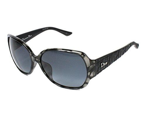 Stripes Christian Dior (Christian Dior DIOR FRISSON F KF9HD (Marble Grey - Black stripe with Blue Grey Gradient lenses))