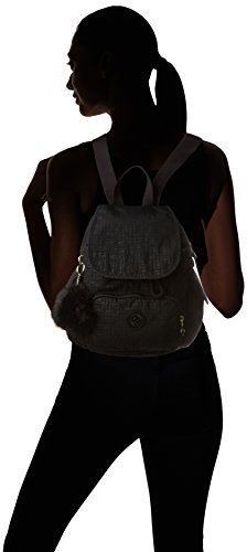 Kipling Backpack Pylon Pack Women's Emb City Mini Black Black 1frpq1Uxw