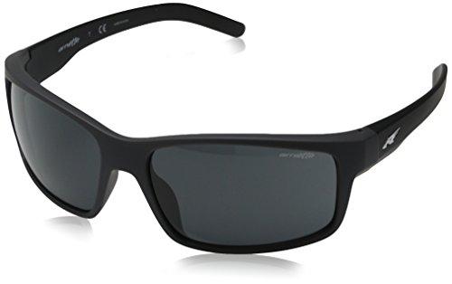 Arnette Fastball AN4202-04 Rectangular Sunglasses, Grey, 61 mm ()