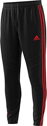 Sweatpants 3 - adidas Men's Soccer Tiro 19 Training Pant, Black/Red, X-Small