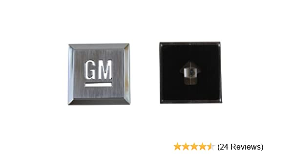 Genuine GM Accessories 15223483 Mark of Excellence Emblem