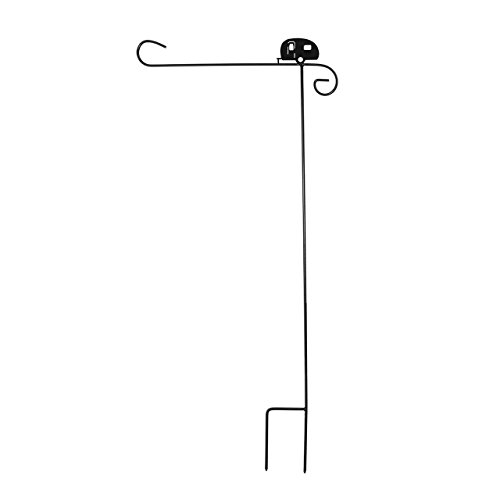 Briarwood Lane Wrought Iron Camper Garden Flag Stand 40