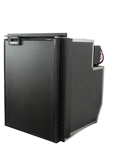 Indel B Tf49 Black Refrigerator  For Commercial Vehicles 1 8 Cubic Ft 12Vdc