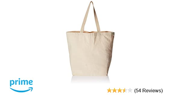 b961cbf5b023 Amazon.com  Eco-Bags Products Recycled Cotton Tote
