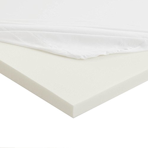 (Sleep Innovations Anti-Allergy Memory Foam Mattress Topper, Twin)