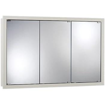 Jensen 740613 Granville Oversize Medicine Cabinet, Classic White, 48 Inch  By 30