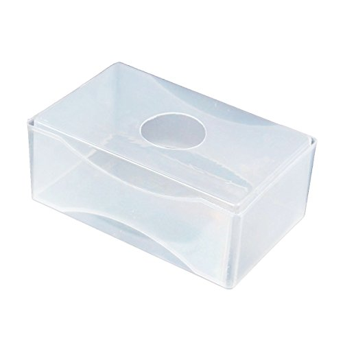 Clever Business Cards (Business card Box - TOOGOO(R)10 x Business Card Box Plastic Holders Clear Craft Beads Container Storage Boxes White)