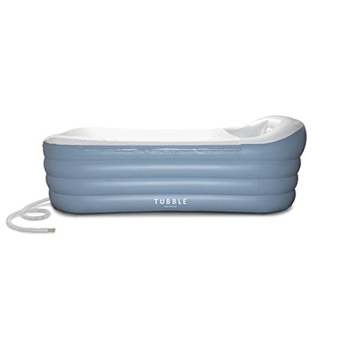 Inflatable Bathtub, Tubble Royale, adult size portable Home Spa tub, Comfortable Bath, Quality Tub - 275 - System Including Air Tub Bath