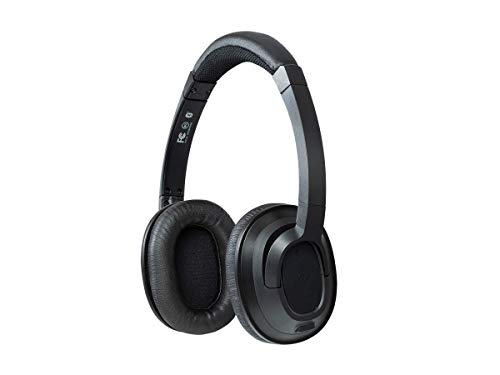 Monoprice On Ear Bluetooth Headphones - Black | BT-210, Wireless, Lightweight Up to 8 Hours of Play Time