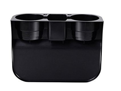 E-Bro Universal Black Car Seat Seam Wedge Mount Cup Stand Holder Storage Organizer 4350406119