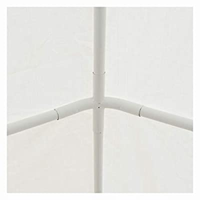 Canopy, Party Tent PE 6.6'x13.1' White: Kitchen & Dining