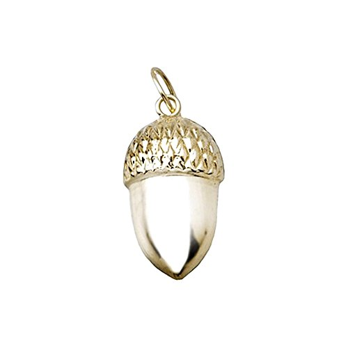 Pendentif 18k gland d'or [AA4767]