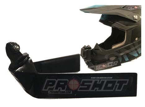 PROSHOT Helmet cam mounting System (Black) (Helmet Mounting)