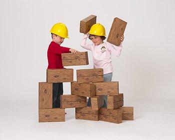 Giant Construction Box Set (24 Piece), Baby & Kids Zone