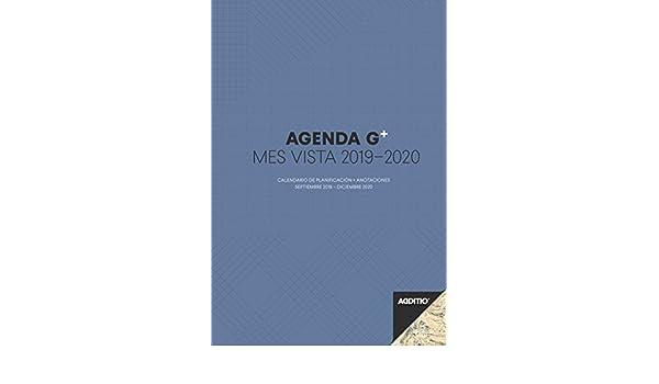 Amazon.com : Additio P182-P - Agenda G Plus 2019-2020 Month ...