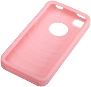 AmazonBasics Silicone Case for AT&T and Verizon iPhone 4 and iPhone 4S (Pink)