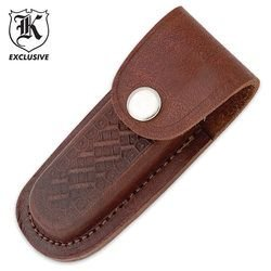 "Leather 4"" Folding Knife Sheath"