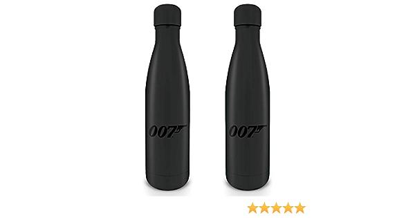 500 ml Unisex 500 ml James Bond MDB25402 Trinkflasche aus Stahl mehrfarbig James Bond Erwachsene